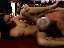 Russian Teen Anjelica Creampie Cees An Old Editor Enjoyed Wi