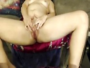 She Has Multiple Orgasms With Huge Dildo