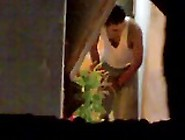 Arab Spy On Horny Couple Sneaking