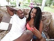Big Baps Tori Taylor Wraps Her Juicy Lips Around A Black Cock