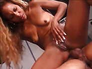 Ebony Cowgirl With Ugly Saggy Tits Gets Analfucked From Behind R