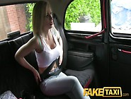 Faketaxi Big Red Blowjob Lips And Fake Big Tits