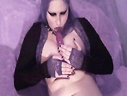 Vampire Girl Masturbates And Comes