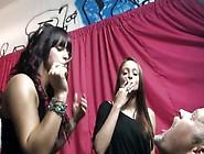 Femdom Smoking