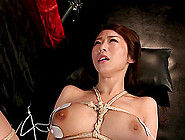 Ayumi Shinoda Is Tied Up For A Kinky Session With Her Master