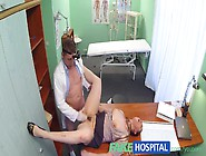 Fakehospital Horny Saleswoman Strikes A Deal With The Dirty Doct