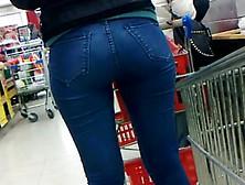 Culo De Teen En Supermercado... Ass Teen In Supermarket