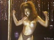 Catya Sassoon Dances Topless While Painted Gold.