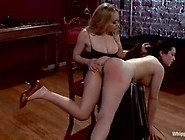 Naughty Brunette,  Naidyne Was Being Punished By Her Mistress,  Ai