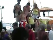 Sex Party Outdoor Blowjob Competition On Beach
