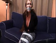 Girl Duct Taped And Gagged By Man