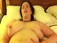 Hot Amateur Milf With Big Tits And Nipples Masturbates With Help