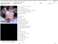 Hairy Redhead Omegle Subslut Plays With Tits And Pussy For Her M