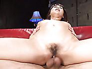 Kinky Boy Fucks His Lusty Asian Harlot In Various Poses On Sofa