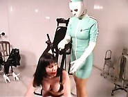 Nurse Training Bitch On The Bed Of Pleasure