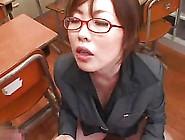 Japanese Schoolgirl And Teacher Bukkake