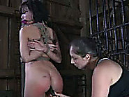 Dark-Haired Brunette With Juicy Ass Gets Absolutely Dominated