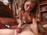 Denial Orgasm Chastity Belt With Riley Reid