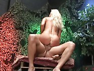 Horny Blonde Gets His Cock Lost In Her Cunt