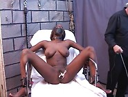 Black Bdsm Submissive Finds Pussy Pain Thrilling