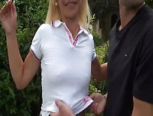 Angelique A French Blonde Mature Fucked Outdoor Porn A4 Fr