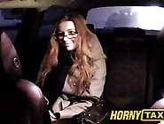 Hornytaxi Cutie With Glasses Fucks For Rent Money