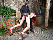 Obedient German Slave Laila Gets Covered In Hot Wax,  Whipped And