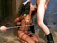 Orgasm In A Wild Device Bondage For Skin