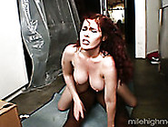 Gorgeous Babe With Big Ass And Huge Appetizing Tits Enjoys Ridin