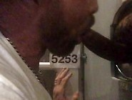 Black Dick With Big Full Balls Nuts At Philadelphia Glory Hole