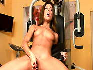 Cute Brunette Anita Pearl Bangs Her Hot Puss After Workout