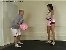 Ballbusting World - Bw-0078 Trouble Down Below!