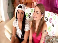 Young Girls Suck White Cock