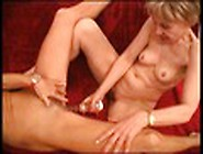Horny Blond Milf Gets Her Wet Juicy Licked And Toy In Her Ass Vi