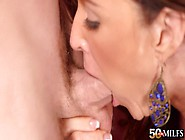 Big Ass Milf,  Rachel Steele,  Tries Cock With Condom In Harsh Way