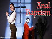 Tommy Pistol & Casey Calvert In Anal Baptism - Sexandsubmission