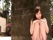 Busty Japanese Girl Wearing A Bikini