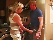 Kinky Guy Was Caught Sniffing His Step- Mom's Panties,  So S