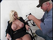 Lovely Blonde Gets Her Ass Played With