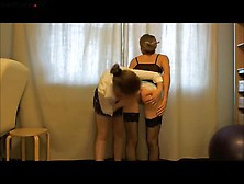 Lesbian Scat Play