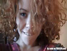 My Redhead Lesbian Gf Shot This Cute Masturbation Video For Me