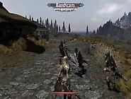【スカイリム】痴女騎士がスリに挑んだ結果・・・【Skyrim】