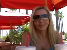 Blonde Milf Lisa Demarco Gets Picked Up