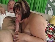 Chunky & Mature Bonita Takes Cock