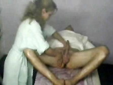 Horny Dude Gets His Body And Cock Massaged By A Sexy Masseur