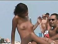 Cutie At A Nudist Beach