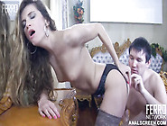 Cute Horny Russian Girl Blows & Fucks Nice Hard Dick On Camera
