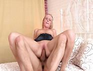 Buxom Blonde Teen In High Heels Gets Boned In The Butt