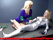 Rachel Rogue And Prism Lesbian Superheroine Pussy Eating Fingeri