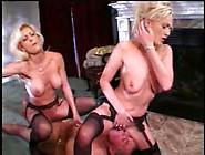 Two Stunning Milfs In Ffm Threesome